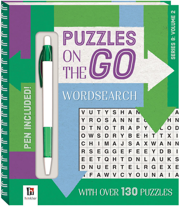 Puzzles on the Go Wordsearch Series 8 Volume 2