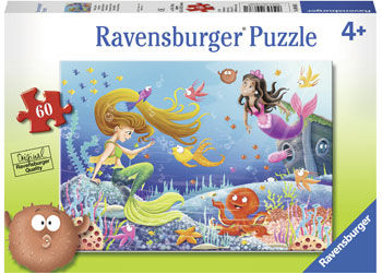 RB096381 Mermaid Tales 60pc Puzzle