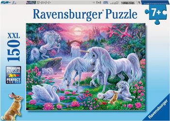 RB100217 Unicorns at Sunset 150pc Puzzle
