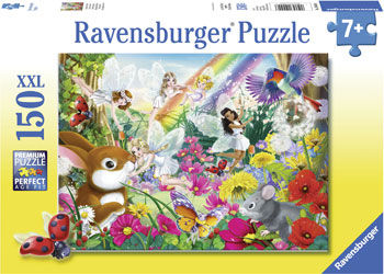 RB100446 Beautiful fairy Forest 150pc Puzzle