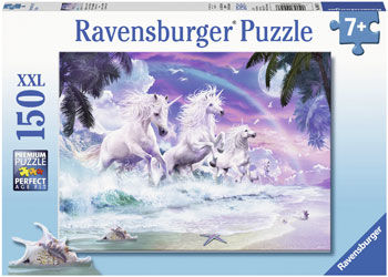 RB100576 Unicorns on the Beach 150pc Puzzle