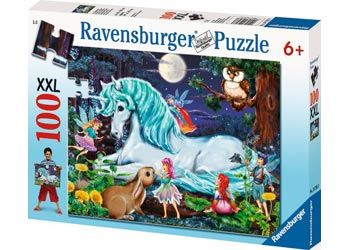 RB107933 Enchanted Forrest 100pc Puzzle