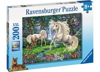 RB128389 Mystical Unicorns 200pc Puzzle