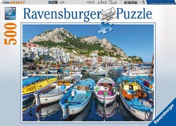 RB146604 Colourful Marina 500pc Puzzle