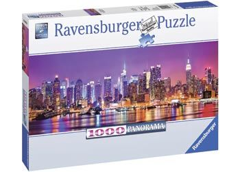 RB150786 Manhatten Lights 1000pc Puzzle