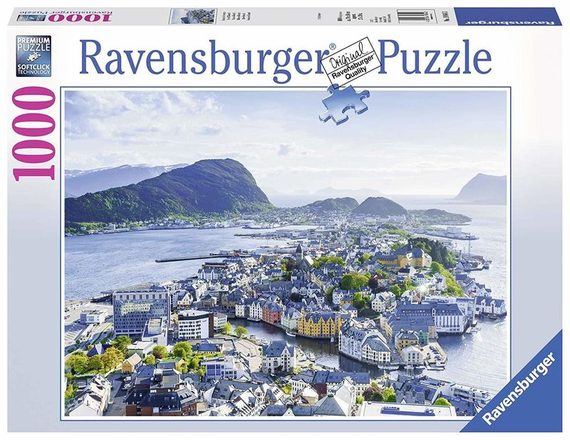 RB198443 Norway Alesund 1000pc Puzzle