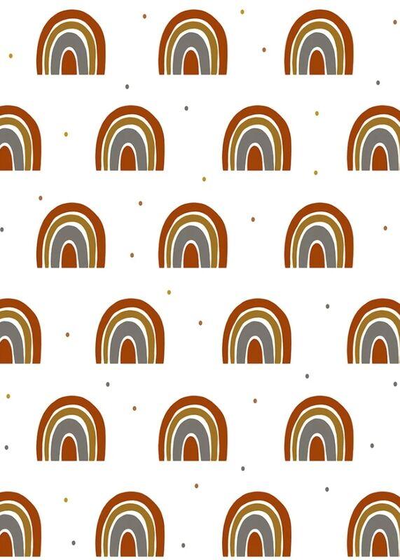 Rainbow Muslin Wrap