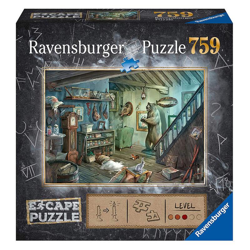Ravensburger Escape 8 The Forbidden Basement 759 Piece Jigsaw Puzzle