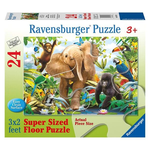 Ravensburger Jungle Juniors Super Size 24pc Floor Jigsaw Puzzle