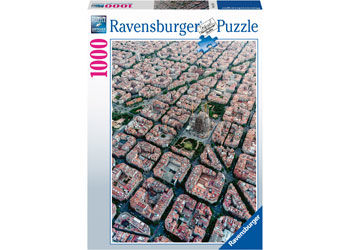 Ravensburger RB151875 Barcelona von Oben 1000pc Jigsaw Puzzle