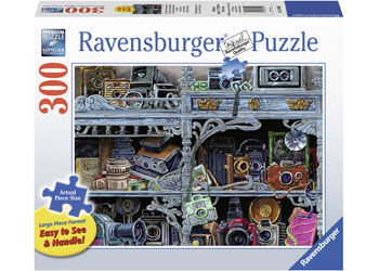 Ravensburger  Camera Evolution Puzzle 300 pieces Lge Format