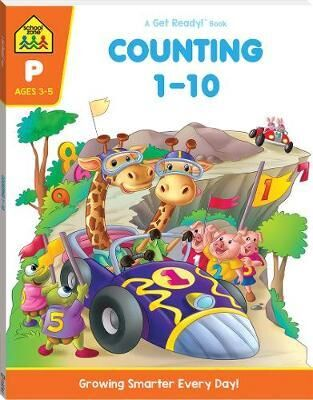 School Zone Counting 110 A Get Ready Book