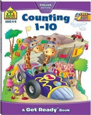 School Zone Counting 110 Get Ready Book