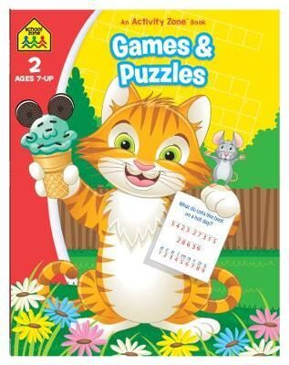 School Zone Games and Puzzles An Activity Zone Book