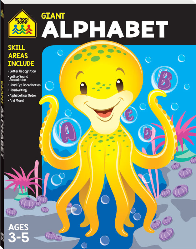 School Zone Giant Alphabet Ages 35