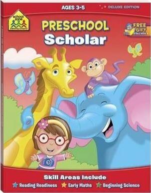 School Zone Preschool Scholar