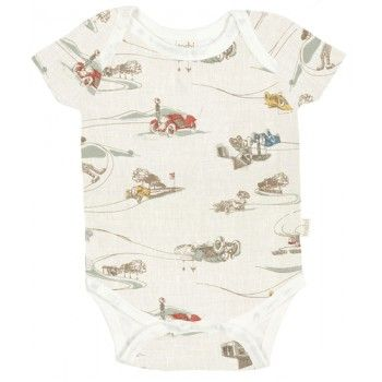 Short Sleeve Onsie  Vintage Cars