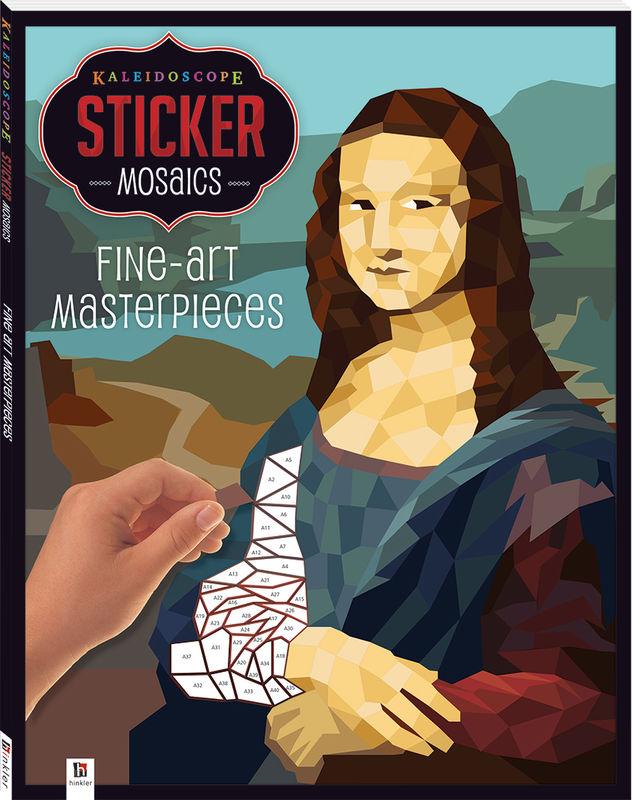 Sticker Mosaics Fine Art Masterpieces
