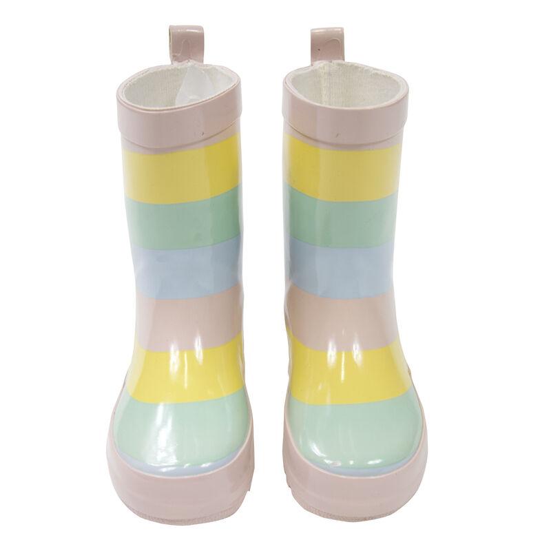Striped Rain Boot Girls
