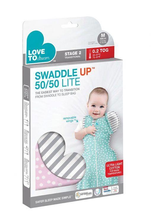 Swaddle UP 5050 Lite 02 TOG  Pink