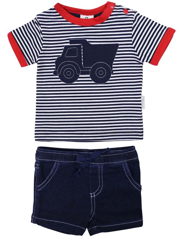 Tip Truck Top and Shorts