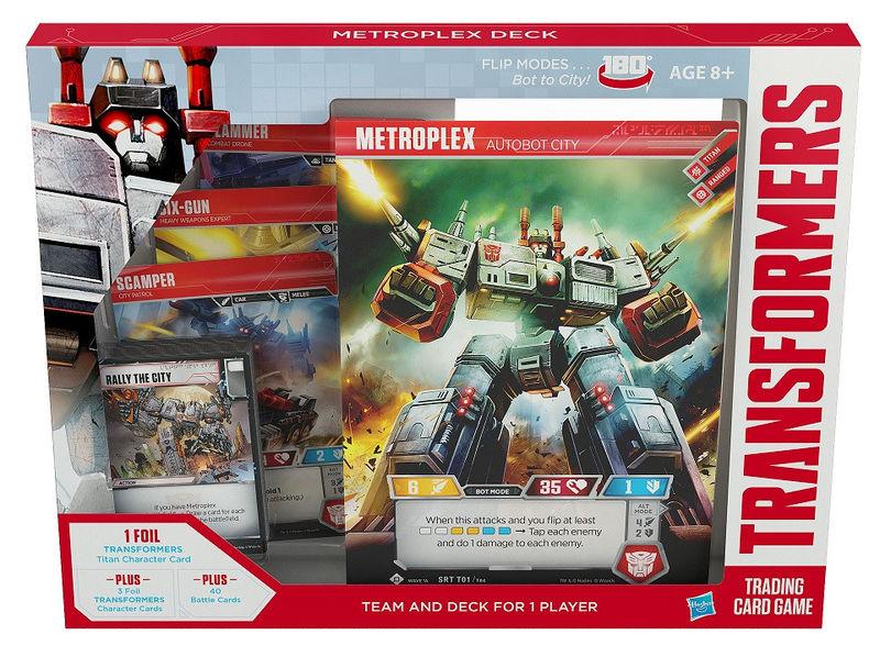 Transformers TCG Metroplex Deck