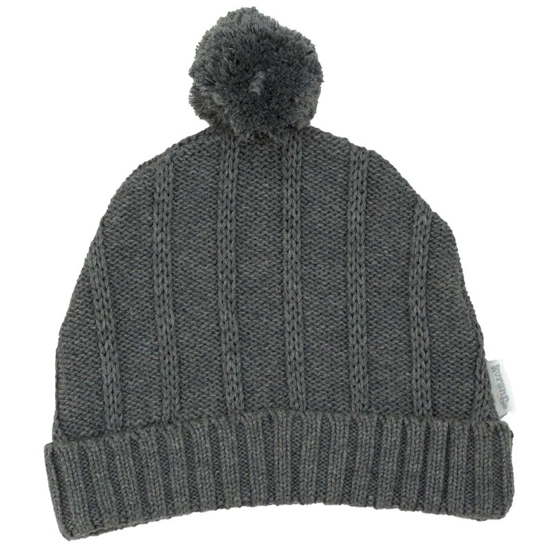 Tri Action Knit Beanie  Charcoal