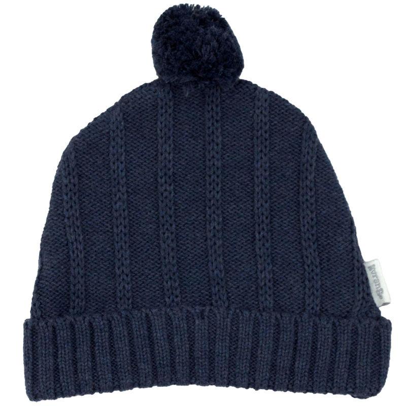 Tri Action Knit Beanie  Navy