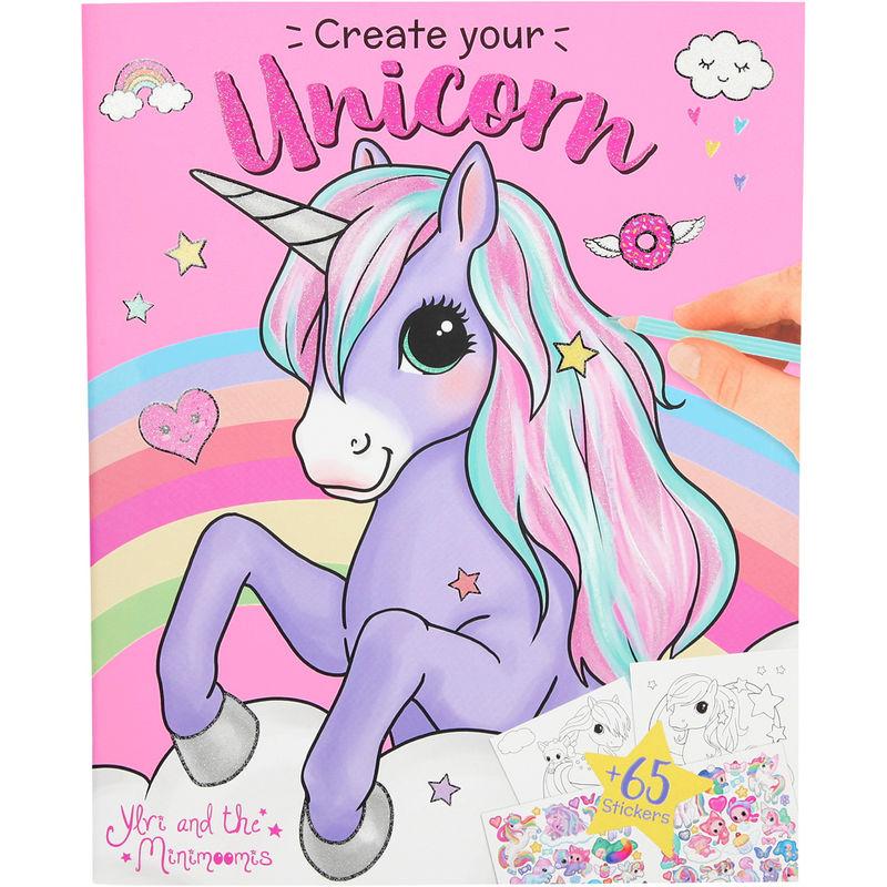 Ylvi and the Minimoomis Create Your Unicorn ColouringActivity Book