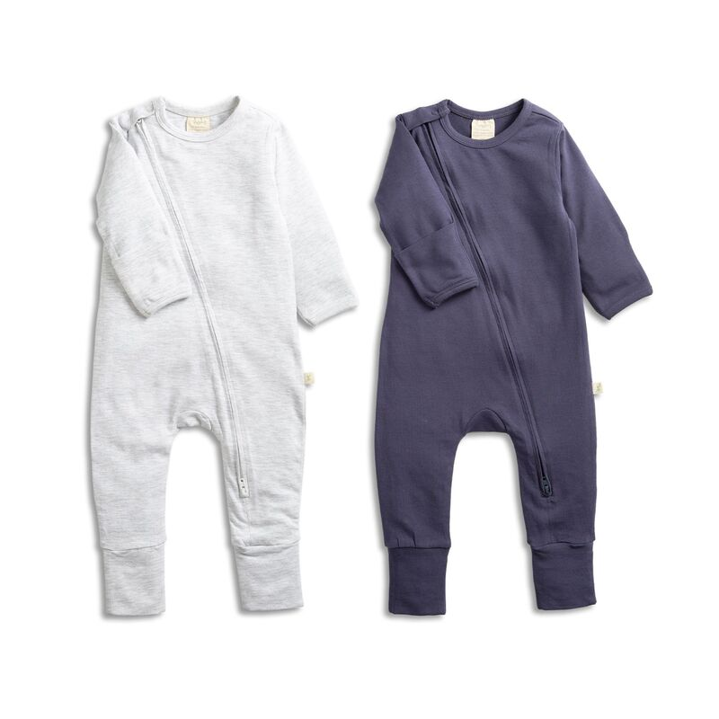 Zipsuit Twin Pack GreySapphire
