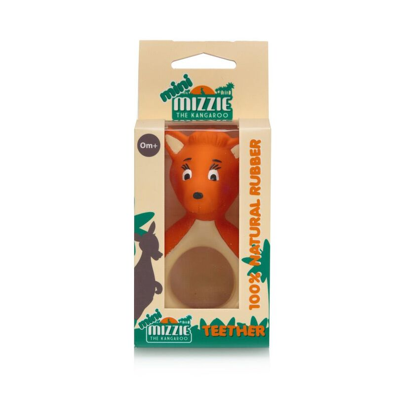 mini Mizzie  100 Natural Rubber baby Teether