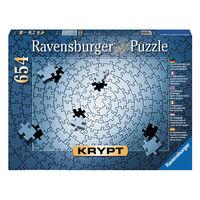 Ravensburger - KRYPT Silver Spiral Puzzle 654 pieces
