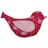 0922 Scarlet Bird Cushion