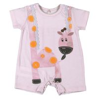 101103 Giraffe play suit Pink