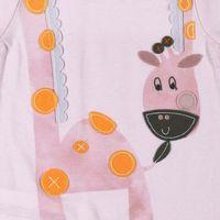 101103 Giraffe play suit Pink