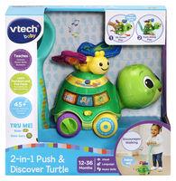 2-in-1 Push & Explore Turtle Toy