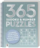 365 Puzzles: Sudoku and Number Puzzles