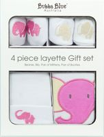 4Pce Layette Gift Set Savanna