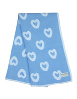 B8010B Heart Blanket