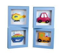 BBK-0430 Funky Vehicles Frames - Set 4