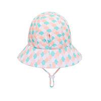 BH Ariel Girls Beach Hat Ponytail Bucket UPF50+