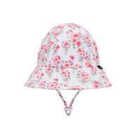BH Grace Floral Toddler Bucket Hat with Chin Strap UPF50+