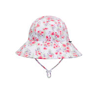 BH Grace Ponytail Bucket Hat with Chin Strap UPF50+