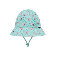 BH Koala Toddler Bucket Hat with Chin Strap UPF50+