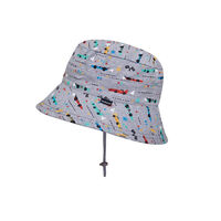 BH Racer Kids Bucket Sun Hat with Chin Strap UPF50+