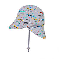 BH Racer Legionnaire Flap Hat with Chin Strap UPF50+