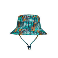 BH Surfboard Beach Bucket Sun Hat UPF50+