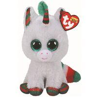 Beanie Boo Reg - Snowfall Christmas Unicorn 36238