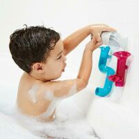 Boon Tubes Builder Bath Toys Set Pack of 3 - Aqua