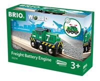Brio - Battery Powered Freight Engine